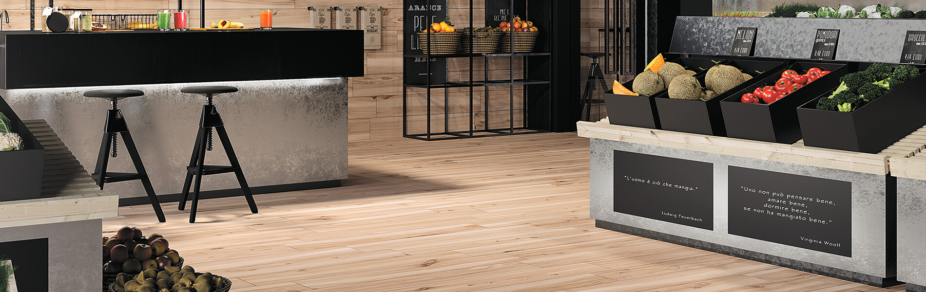 Koru Wood-Look Porcelain Floor Tile