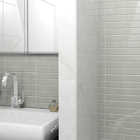 Vitro Slim Glass Mosaic Tile | by Kate-Lo Tile and Stone